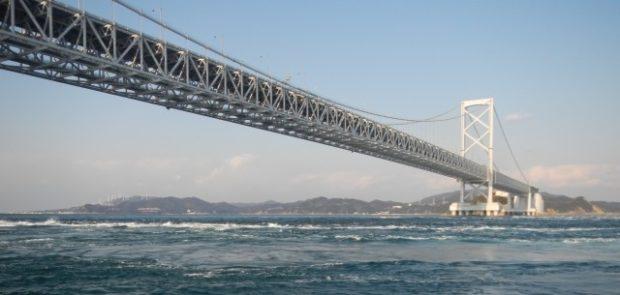 naruto bridge - naruto wirphool Tokushima nell'isola Shikoku