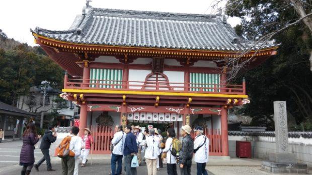 tempio buddista Tokushima nell'isola Shikoku