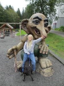 Giorgia Parmiggiani si è trasferita a vivere in Norvegia