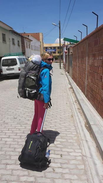 Anna ha completato il giro del mondo zaino in spalla low cost viaggiare senza soldi 2