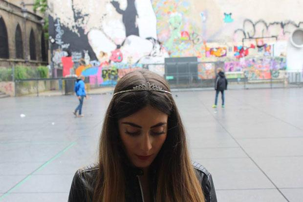 Valentina ha scelto di vivere a Parigi e lavorare a Parigi