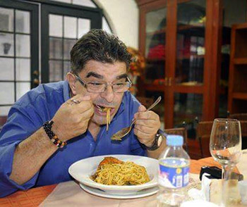 ROSSANO FAUSTO VIVERE A MANILA NELLE FILIPPINE Spaghettata