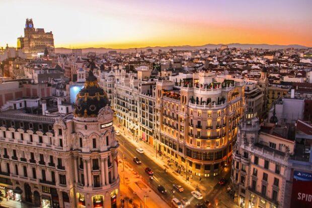 VIAGGIO A MADRID CON LA FAMIGLIA