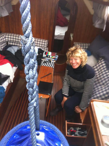 il libro di Marianna De Micheli Centovetrine e Centoboline navigatrice solitaria 6