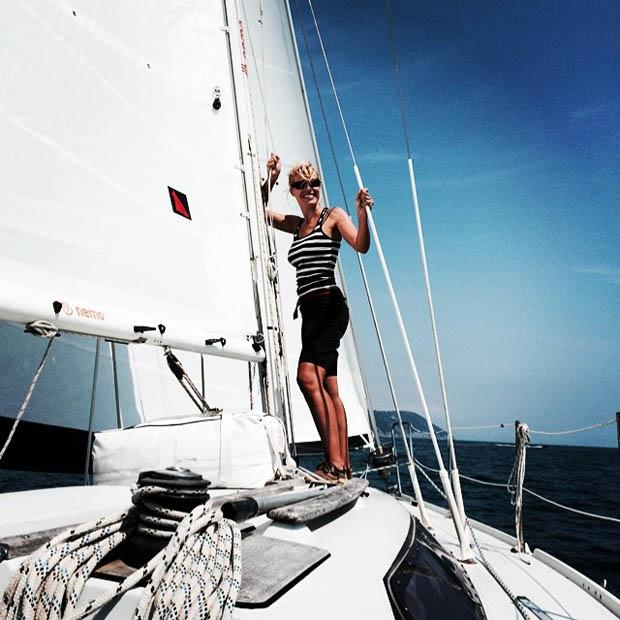 il libro di Marianna De Micheli Centovetrine e Centoboline navigatrice solitaria 8