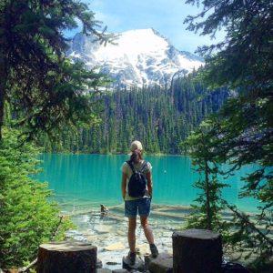 joffre lakes SABRINA SI E' TRASFERITA A VIVERE A VANCOUVER IN CANADA