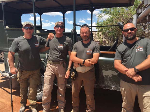 Luca Vercesi Mollare Tutto anti braconaggio rangers Namibia Sud Africa