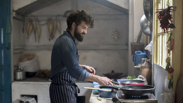 Guglielmo Sartor cuoco errante Ape Car