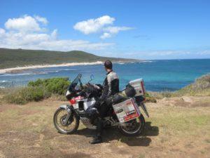 Mollo tutto e viaggio in moto