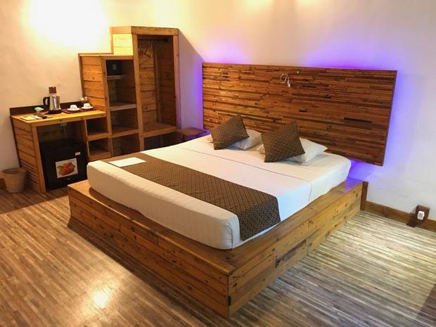 vivere alle Maldive dove gestisce una Guest House