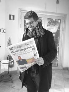 Matteo Valencic si è trasferito nel 2012 a lavorare in Svezia a Linkoping