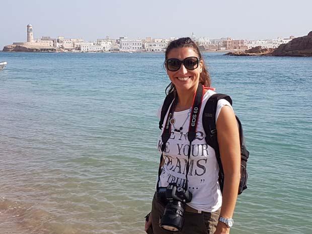 Monica spirito nomade grande passione i viaggi