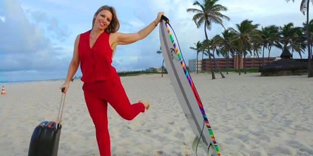 Carlotta ha scelto di trasferirsi a vivere in Brasile e lavorare in Brasile