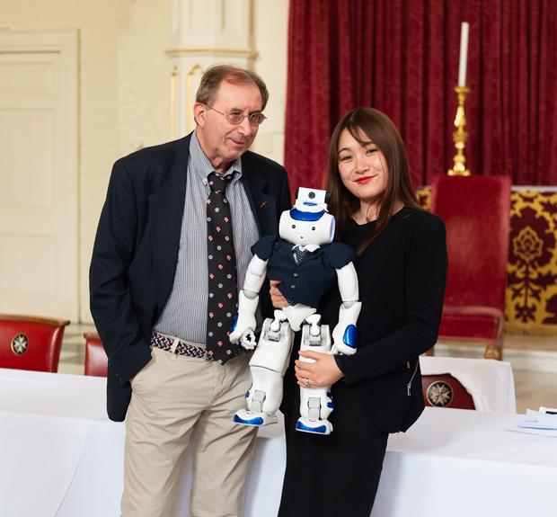 Marcello Pecchioli robot Bluestorm