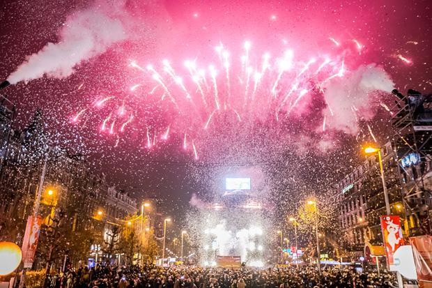 braccialetto per accedere a tutti i party di Capodanno a Bruxelles