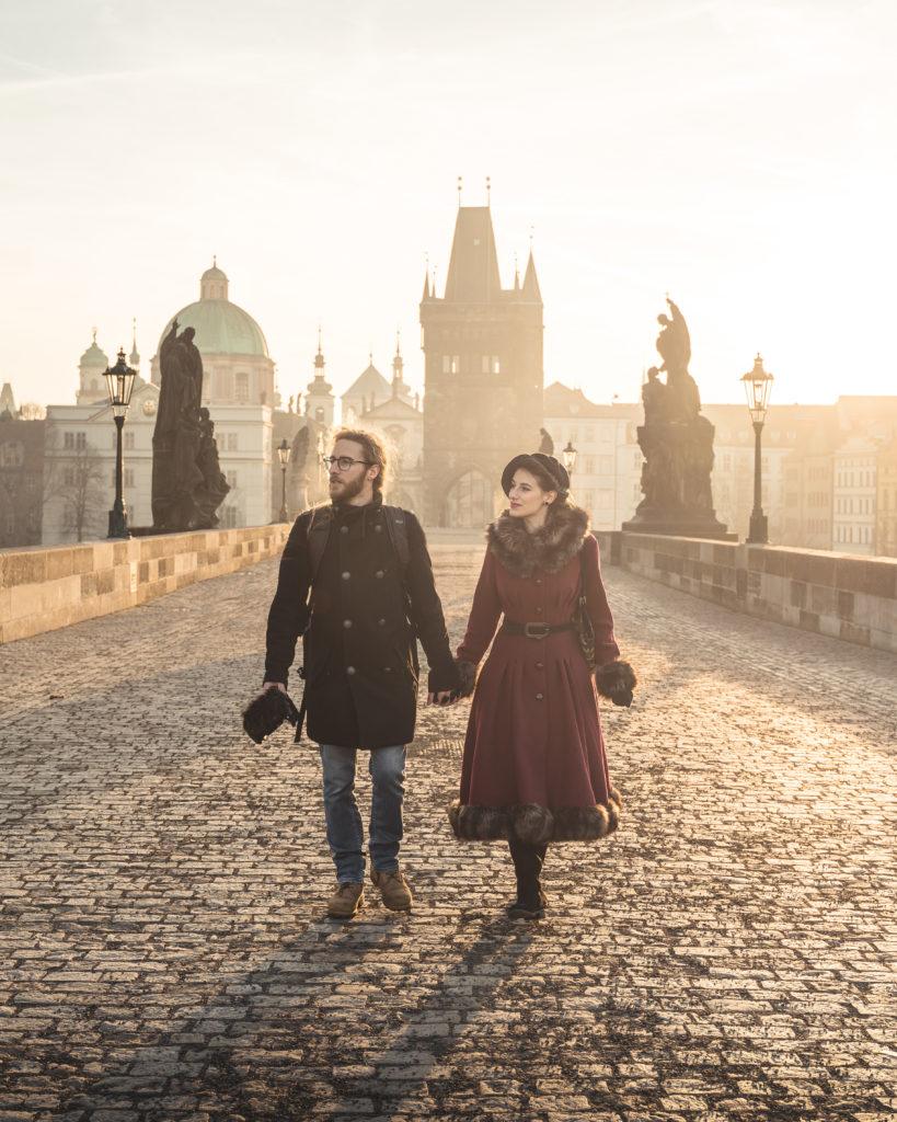 Storie di Travel Vlogger italiani: Giorgio e Martina di In Viaggio col Tubo ci raccontano la loro - Praga