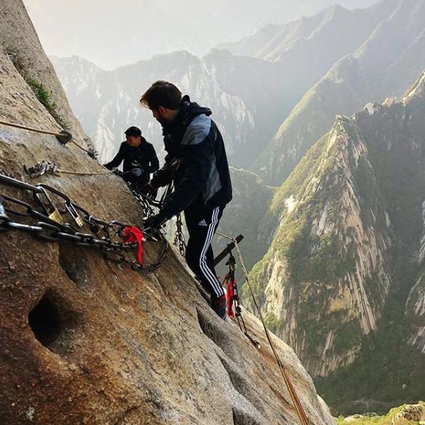 La via della seta e tanto altro: viaggiare alla scoperta del mondo con Andrea Gallo - monte Huashan